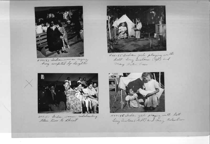 Mission Photograph Albums - Indians #3 Page_0005