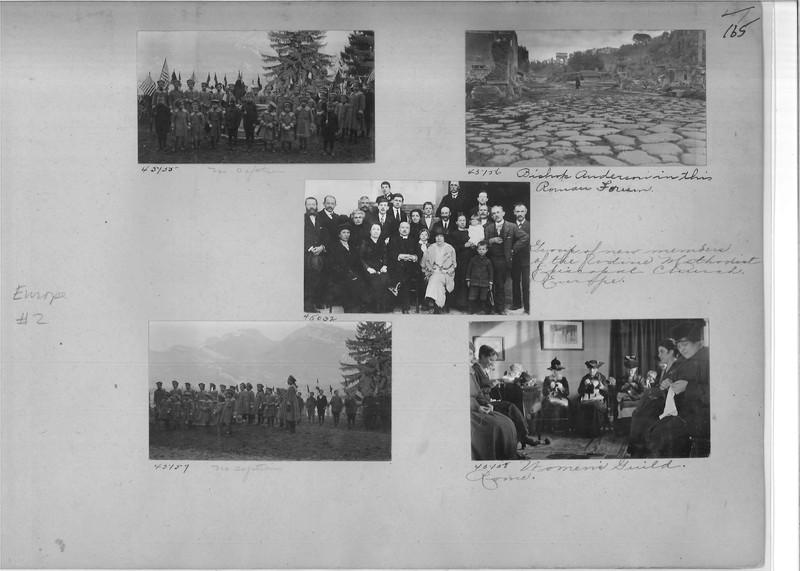 Mission Photograph Album - Europe #02 Page 0165