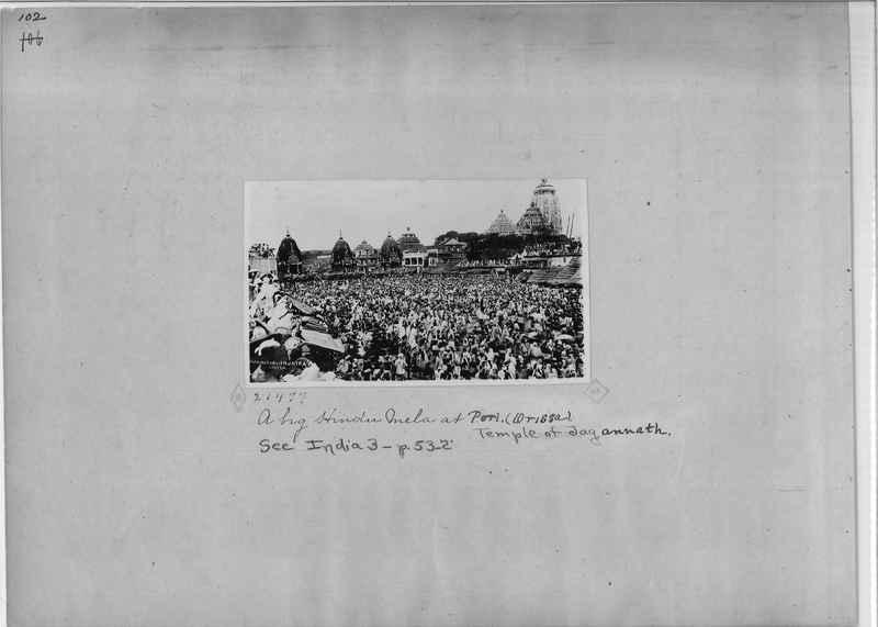 Mission Photograph Album - India - O.P. #01 Page 0102