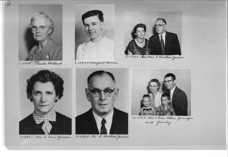 Mission Photograph Album - Portraits #08 Page 0104