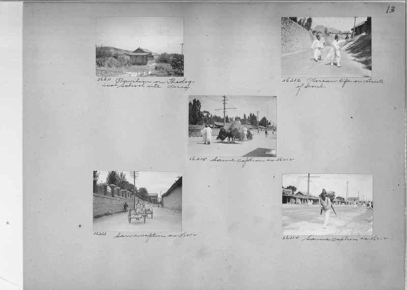 Mission Photograph Album - Korea #5 page 0013