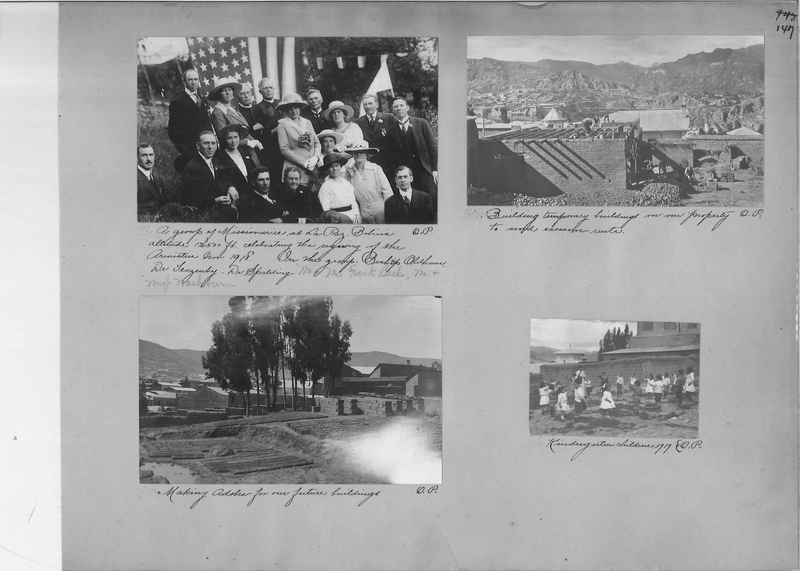 Mission Photograph Album - South America O.P. #1 page 0147
