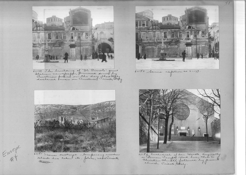 Mission Photograph Album - Europe #04 Page 0047
