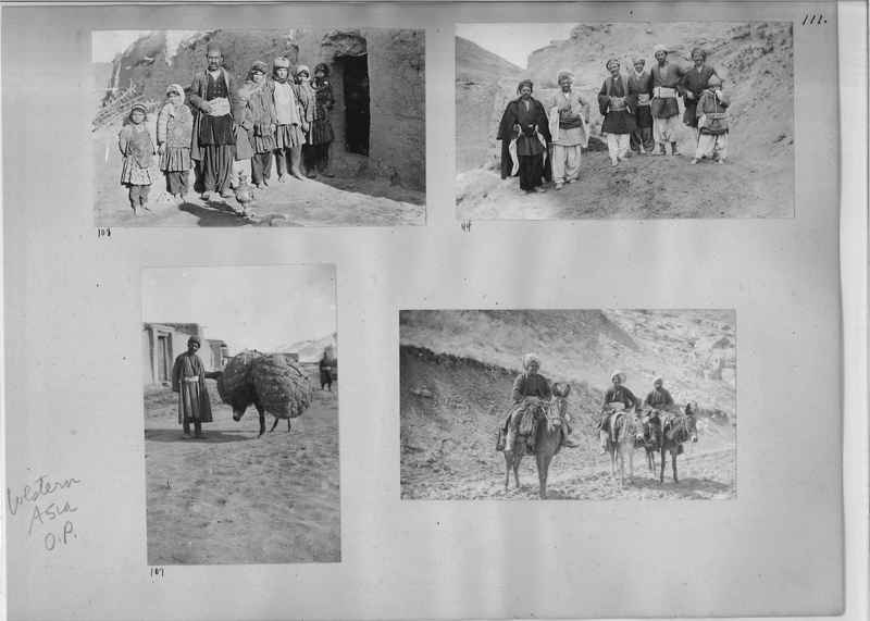 Mission Photograph Album - Western Asia - O.P. - #01 page_0111