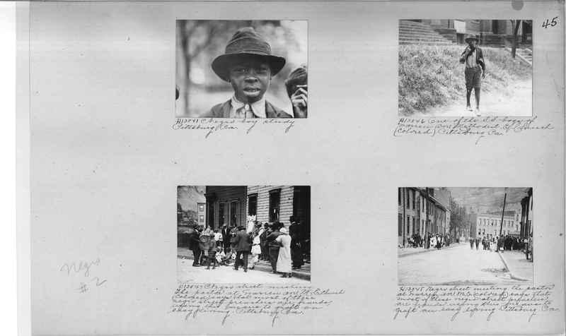 Mission Photograph Album - Negro #2 page 0045