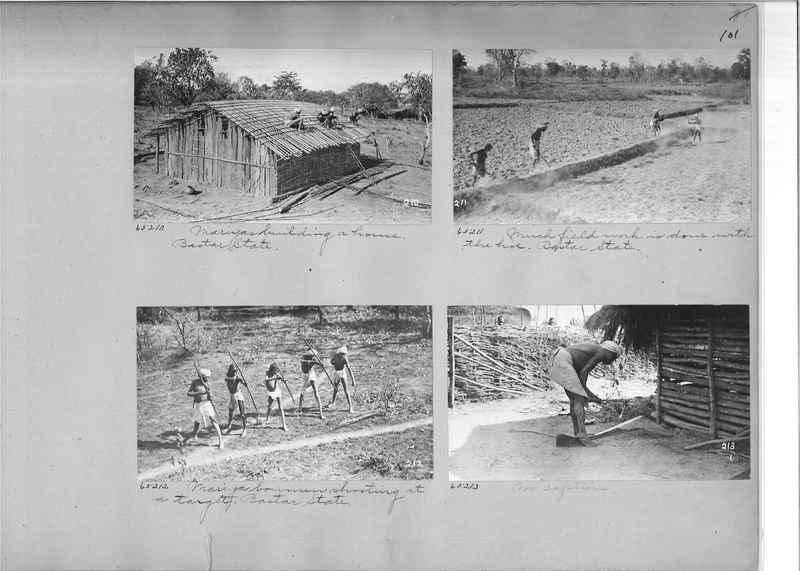Mission Photograph Album - India #08 Page 0101