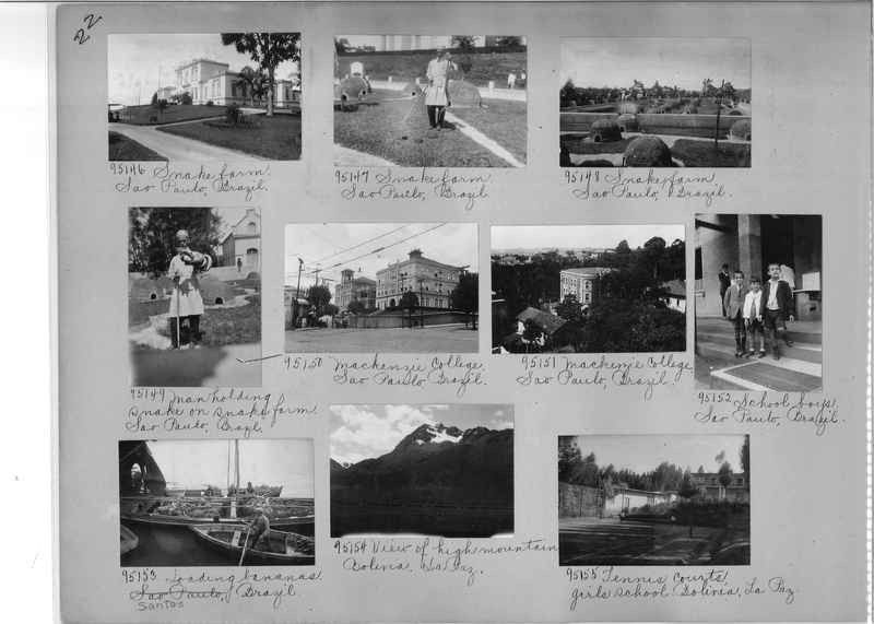 Misson Photograph Album - South America #8 page 0022