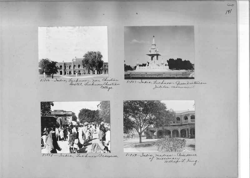 Mission Photograph Album - India #09 Page 0191