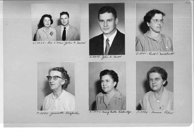 Mission Photograph Album - Portraits #08 Page 0107