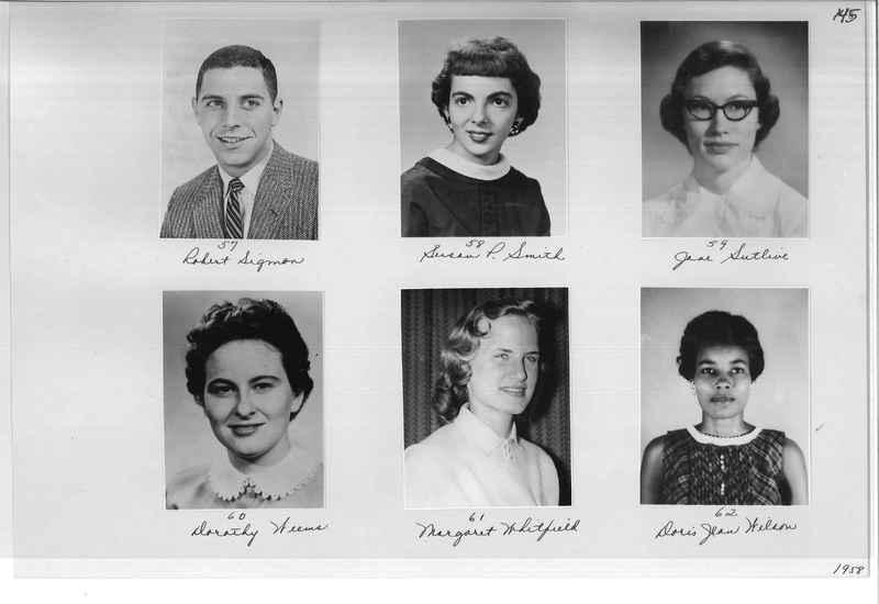 Mission Photograph Album - Portraits #10 Page 0145