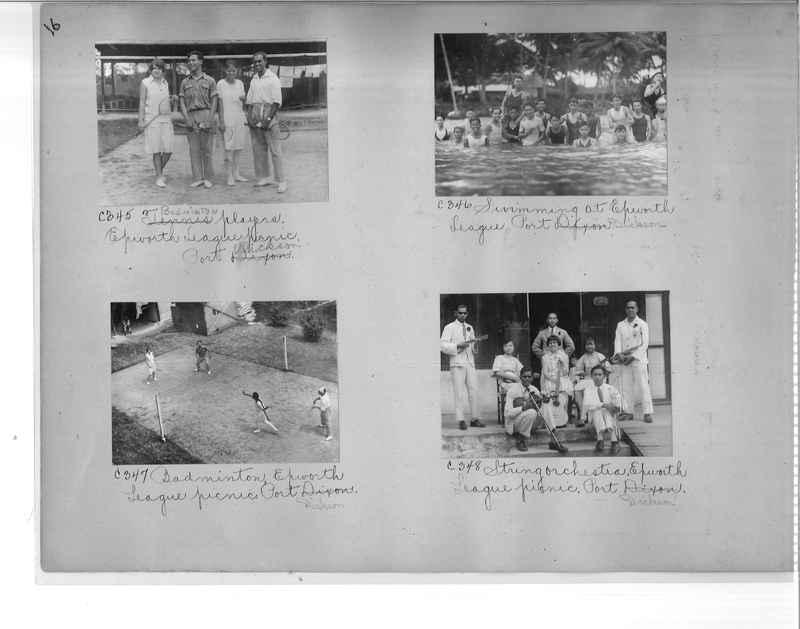 Mission Photograph Album - Malaysia #7 page 0016
