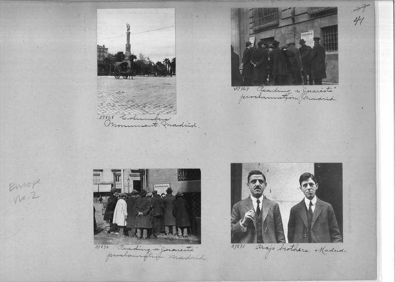 Mission Photograph Album - Europe #02 Page 0041