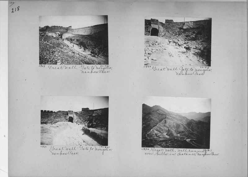 Mission Photograph Album - China #2 page  0218