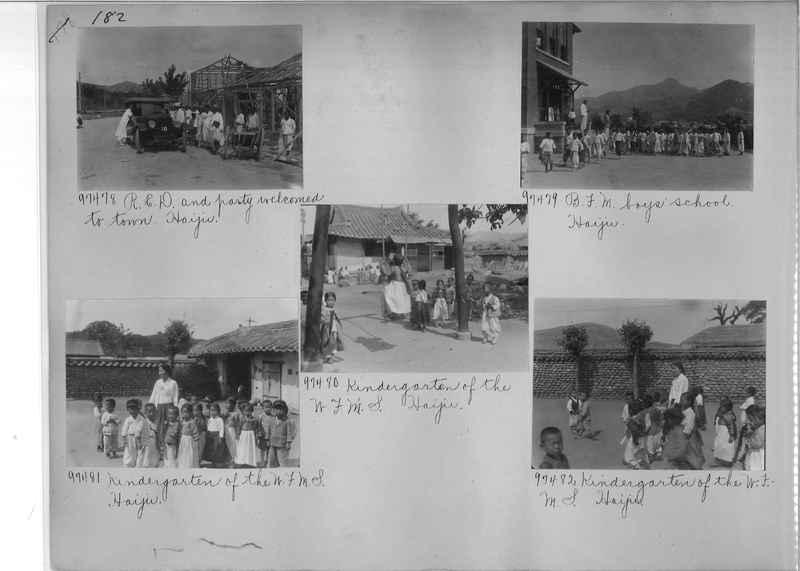 Mission Photograph Album - Korea #5 page 0182