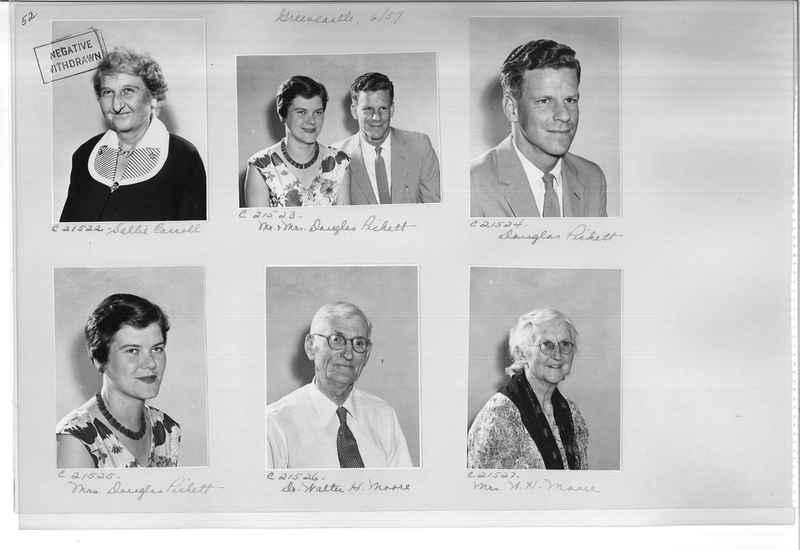 Mission Photograph Album - Portraits #10 Page 0052