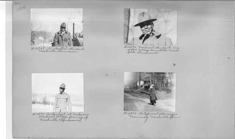 Mission Photograph Album - Negro #1 page 0104