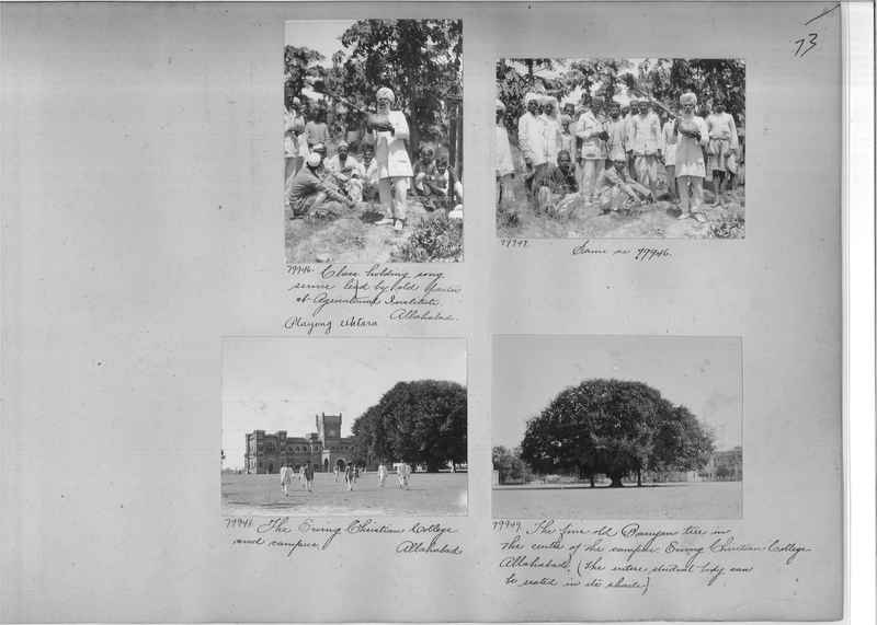 Mission Photograph Album - India #09 Page 0073