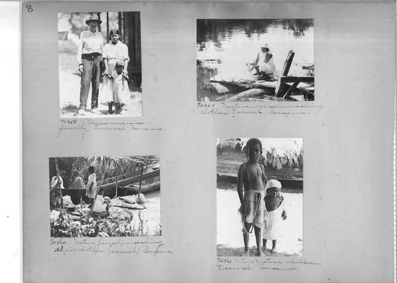 Mission Photograph Album - Panama #03 page 0008