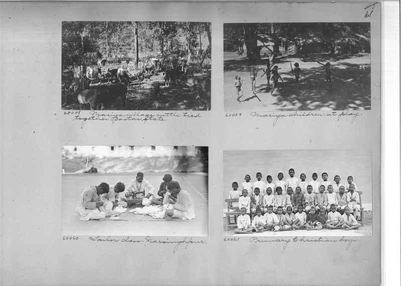 Mission Photograph Album - India #08 Page 0061