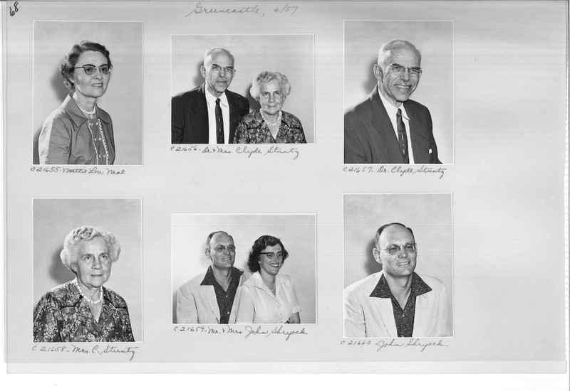 Mission Photograph Album - Portraits #10 Page 0068