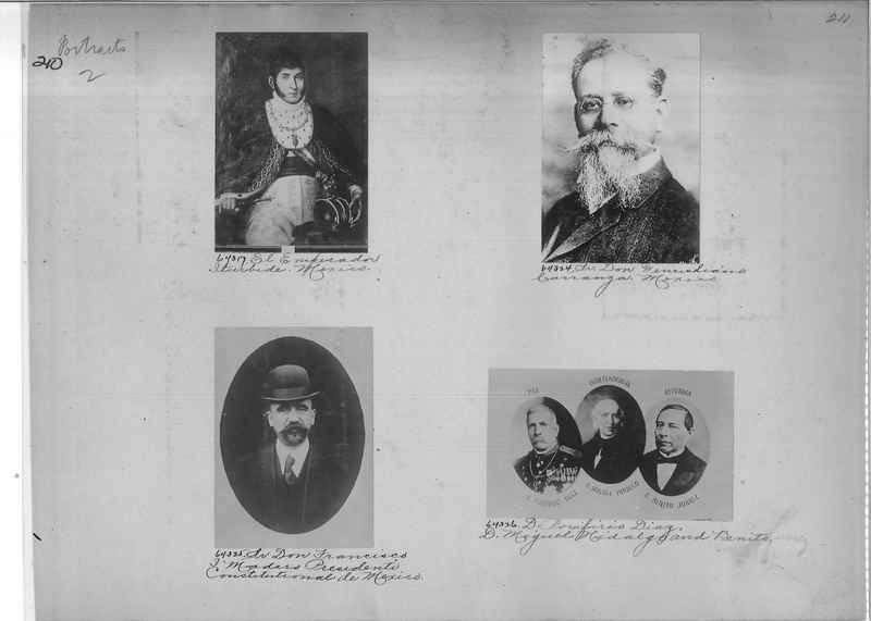 Mission Photograph Album - Portraits #2 page 0210