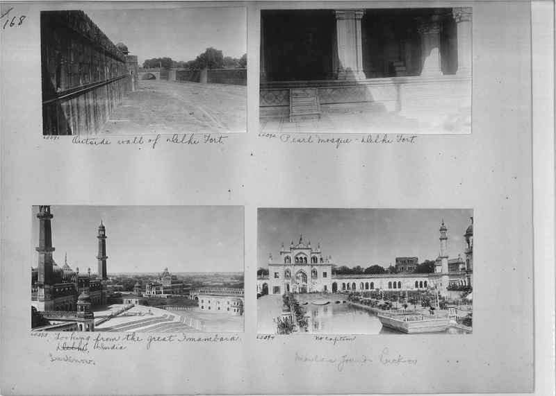 Mission Photograph Album - India #08 Page 0168
