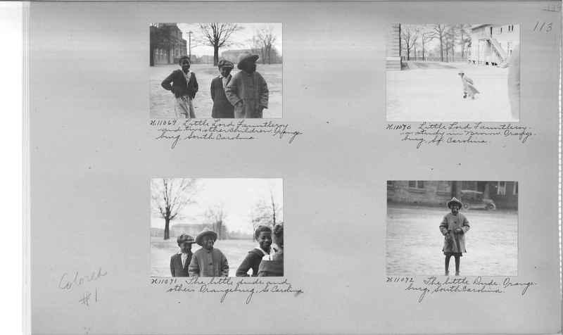 Mission Photograph Album - Negro #1 page 0113