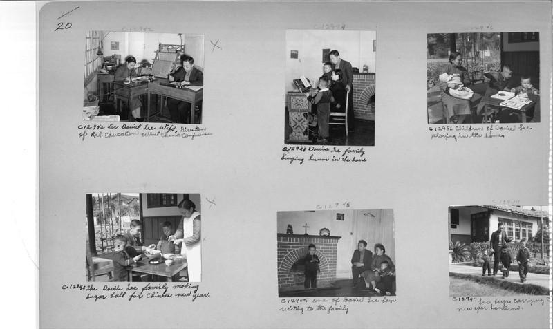 Mission Photograph Album - China #20 page 0020