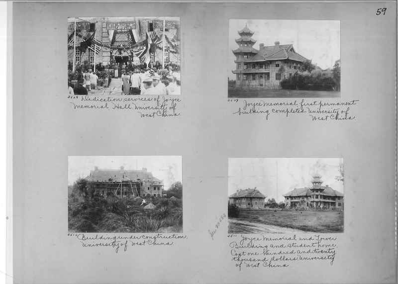 Mission Photograph Album - China #2 page  0059