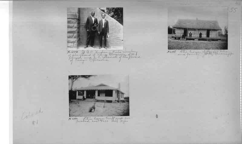 Mission Photograph Album - Negro #1 page 0055