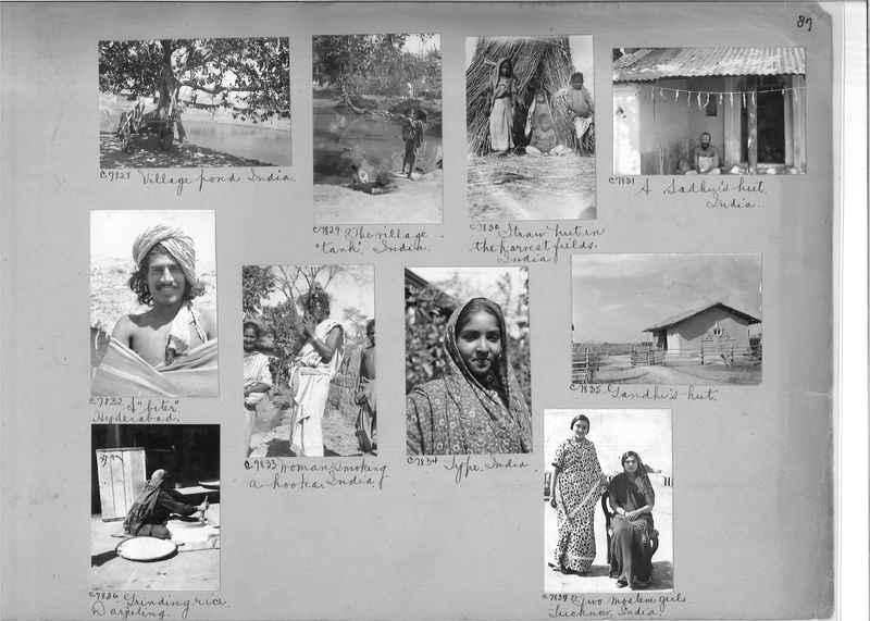 Mission Photograph Album - India #13 Page 0087
