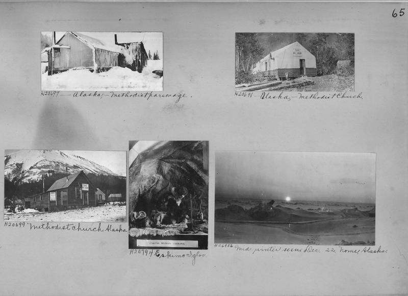 Mission Photograph Album - Alaska #1 page 0065