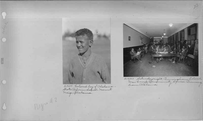 Mission Photograph Album - Negro #2 page 0253