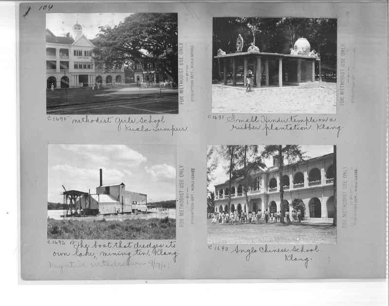 Mission Photograph Album - Malaysia #7 page 0104