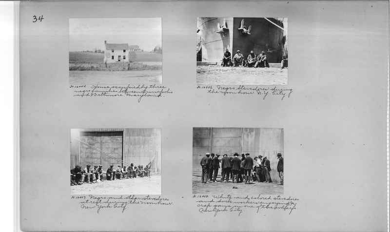 Mission Photograph Album - Negro #2 page 0034