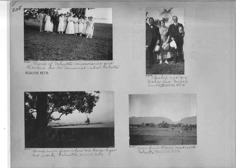 Mission Photograph Album - India #09 Page 0208