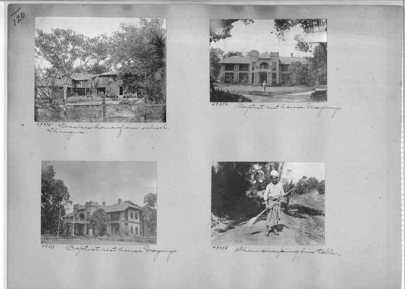 Mission Photograph Album - Burma #1 page 0120