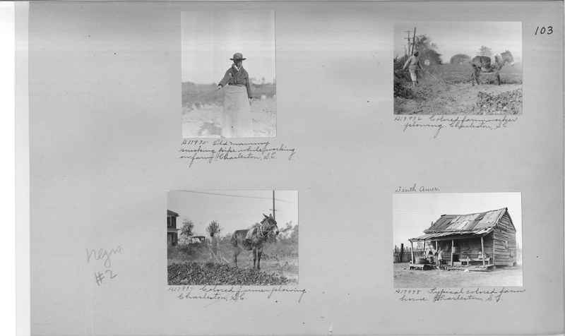 Mission Photograph Album - Negro #2 page 0103