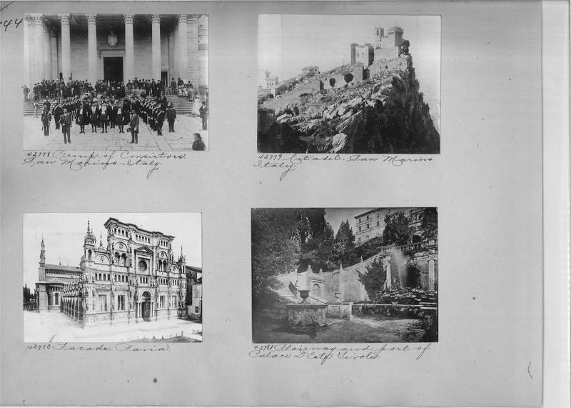 Mission Photograph Album - Europe #02 Page 0144