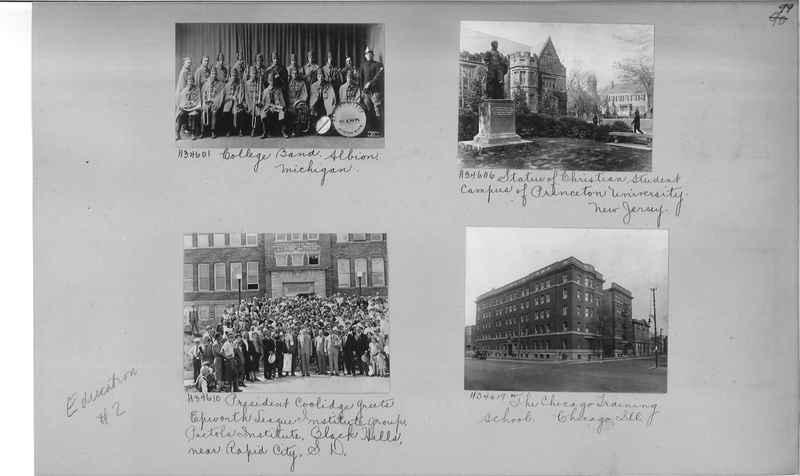 Mission Photograph Album - Education #2 page 0099