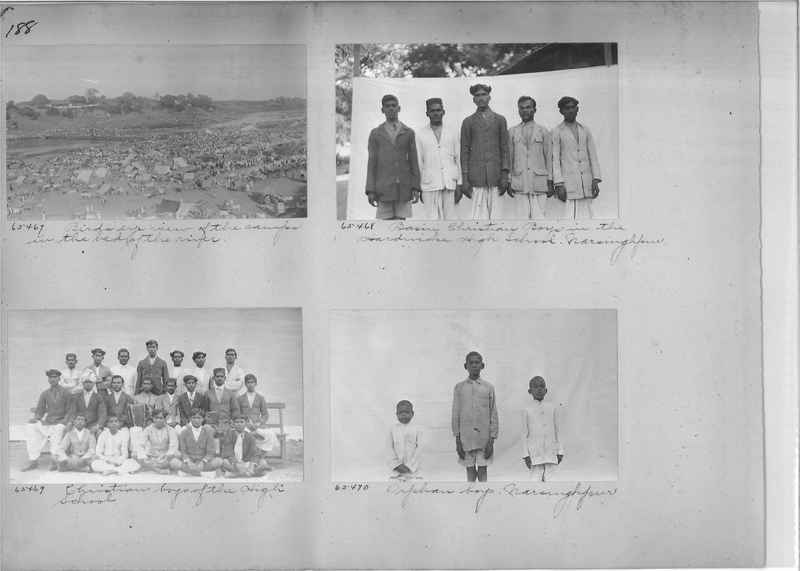 Mission Photograph Album - India #08 Page 0188