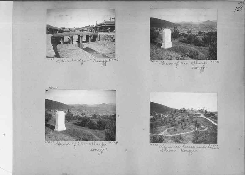 Mission Photograph Album - Korea #1 page 0183