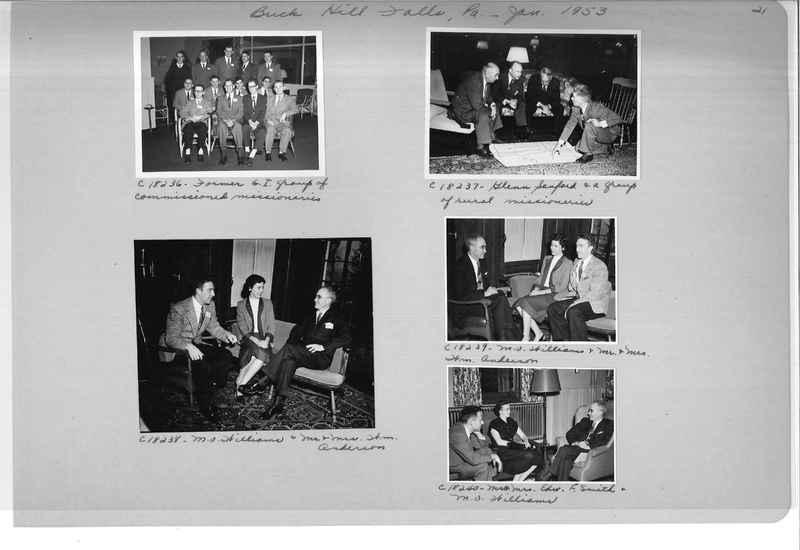 Mission Photograph Album - Portraits #08 Page 0021