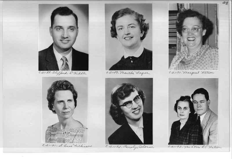 Mission Photograph Album - Portraits #10 Page 0023