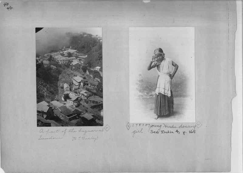 Mission Photograph Album - India - O.P. #01 Page 0040