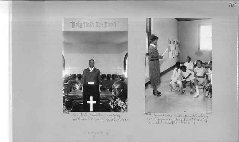 Mission Photograph Album - Negro #6 page 0101