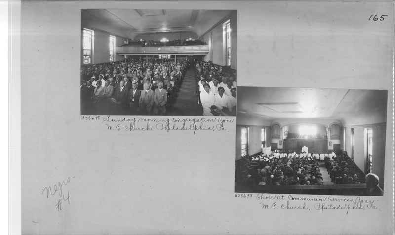 Mission Photograph Album - Negro #4 page 0165