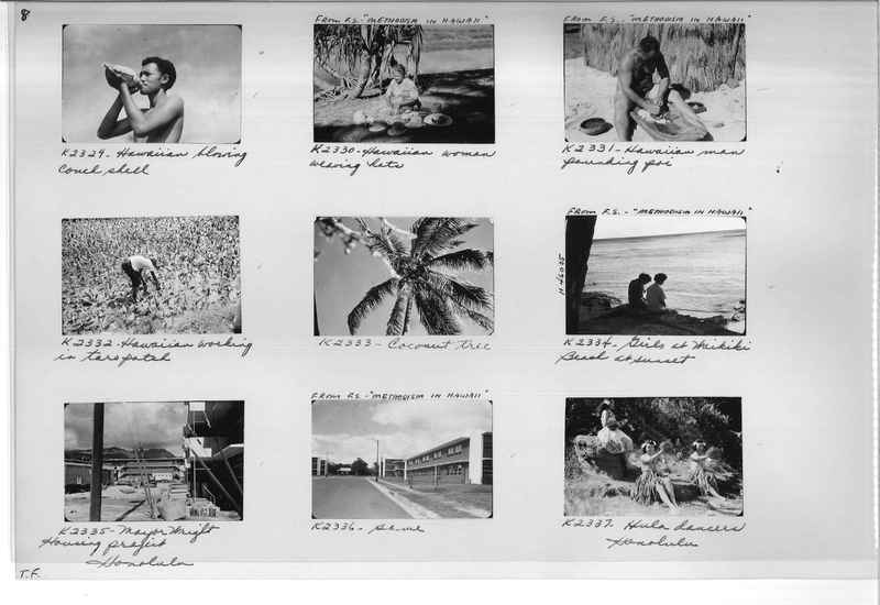 Mission Photograph Album - Hawaii #3 page 0008
