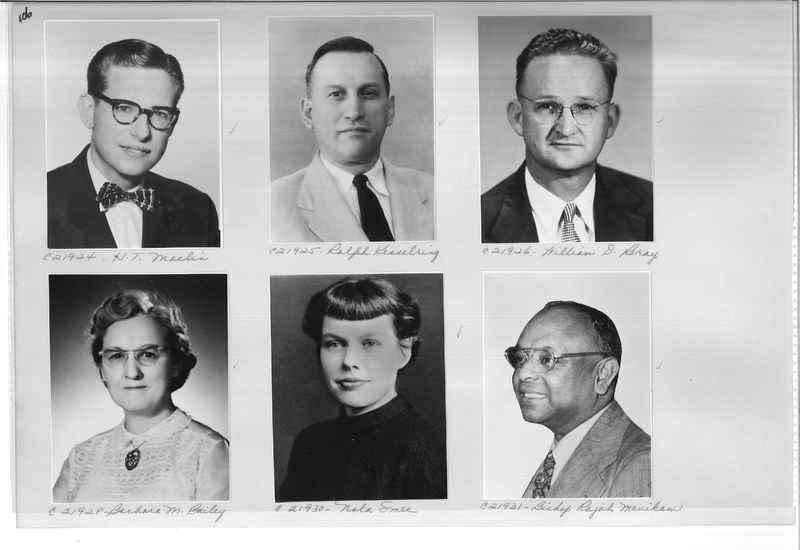 Mission Photograph Album - Portraits #10 Page 0106