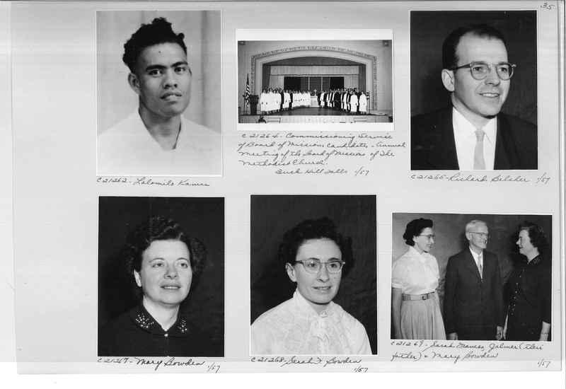 Mission Photograph Album - Portraits #10 Page 0035